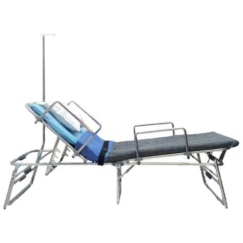 bed with poles medical response bed with iv pole rb mr400i vericor medical systems