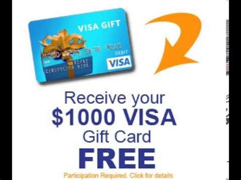 How To Get A Free Visa Gift Card Code - full download how to get your own 1000 visa gift card in 2 steps