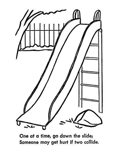 coloring pages of water slides slides colouring pages