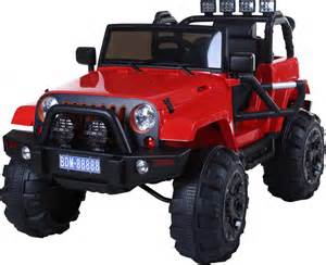 Electric Car Activity Rocket Wrangler Electric Battery Ride On Jeep