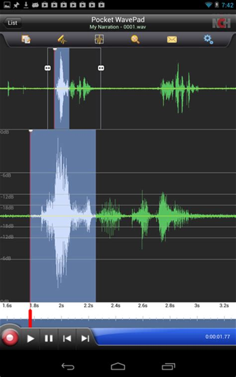 wavepad full version apk wavepad audio editing software screenshots