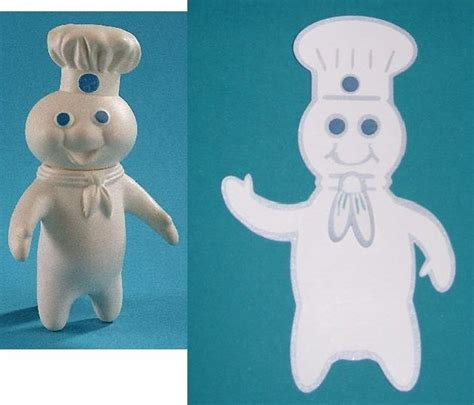 Set Doe Boy susan bluerobot pillsbury dough boy plus pattern