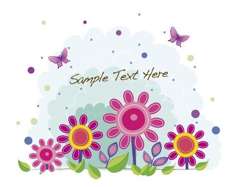 sfondi fiori e farfalle sfondo con fiori rosa e farfalle scaricare vettori gratis