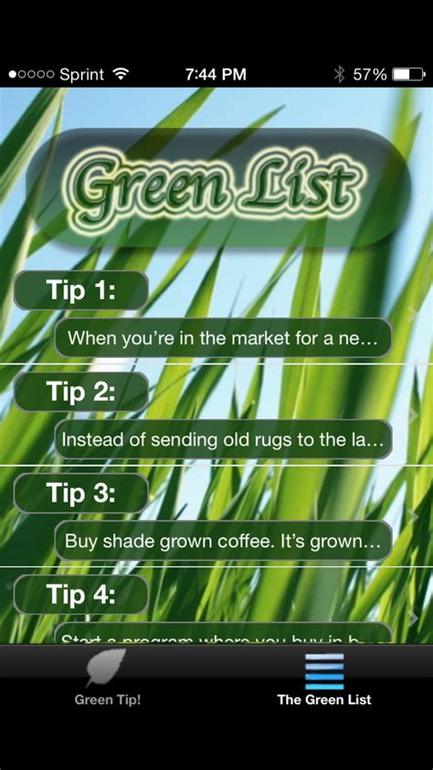 A List Go Green by Apps That Help You Go Green Or Even Greener