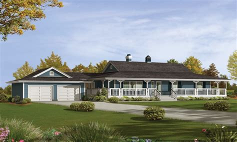 Farm Style House Plans Small House Plans Ranch Style Ranch Style House Plans With Wrap Around Porch One Level Country