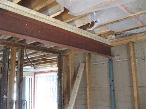 load bearing wall beam in attic structural repairs load bearing walls thumb and hammer
