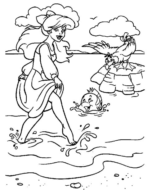 little mermaid easter coloring pages coloring page the little mermaid coloring pages 10