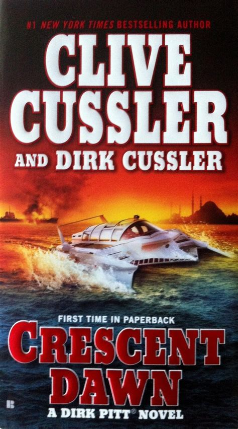 deep six dirk pitt b002txzt20 clive cussler cresent dawn i read a lot novels book and d