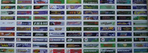 printable n64 labels video game critic s nintendo 64 top labels review