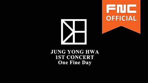 libro one fine day the 2015 정용화 jung yong hwa live in seoul one fine day spot
