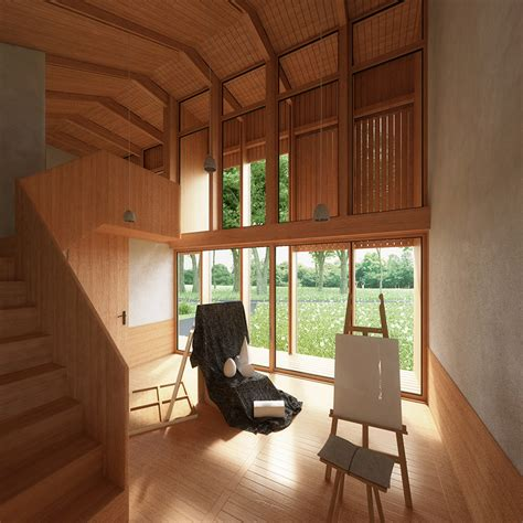 yin yang house penda plans yin yang house for a family that wants to live off grid