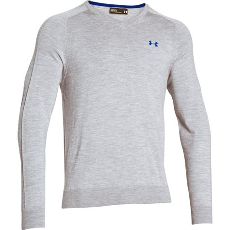 under armoir golf 2015 under armour tips v neck merino sweater mens pullover