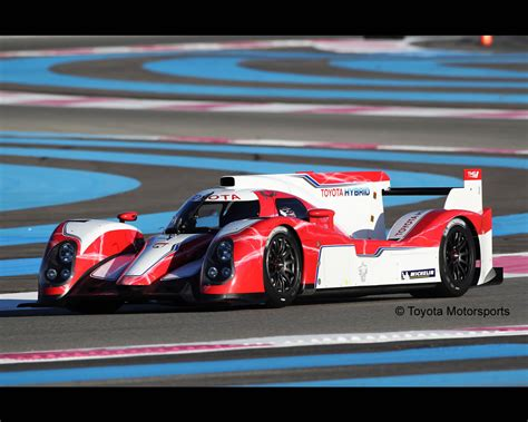 Toyota Hours Toyota Ts030 Hybrid Lmp1 Fia World Endurance