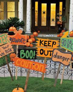 Halloween Decorations Signs Decorating For A Not So Scary Halloween