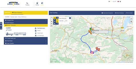 design online shipment tracking system trucktrack de g 233 olocalisation des camions int 233 gr 233