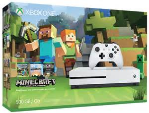 black friday 2016 ads amazon black friday deal 10 xbox one s minecraft bundle only