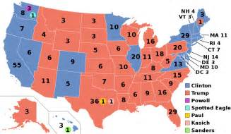 us electoral map by population electoral college united states
