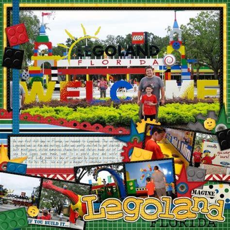legoland layout 30 best scrapbooking legoland images on pinterest