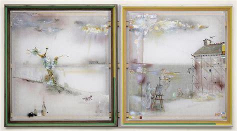 Lukisan Landscape 186 X 96 Cm merlin artists kerlin gallery