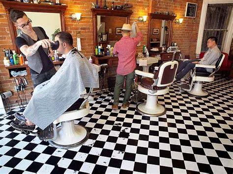Cermin Pangkas cara desain 18 inspirasi interior tempat pangkas rambut