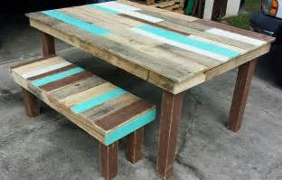 Pallet Dining Table Diy 33 Diy Dining Room Tables Easy To Make Table Decorating Ideas