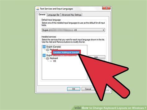 keyboard layout not changing windows 7 3 ways to change keyboard layouts on windows 7 wikihow