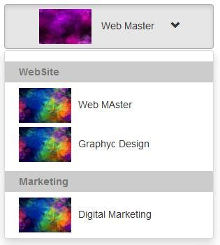 cara membuat menu dropdown di bootstrap cara membuat dropdown gambar dengan bootstrap