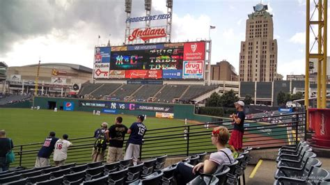 section 117 progressive field progressive field section 117 rateyourseats com