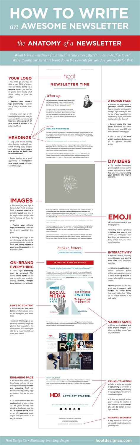 15 best ideas about newsletter design on pinterest