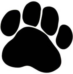 dog paw pictures cliparts