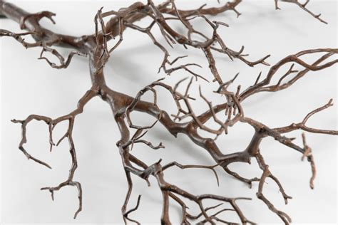 faux tree branches artificial manzanita tree branches brown 38 5in