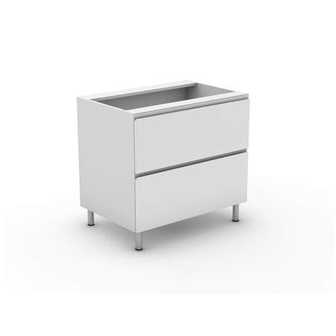Flat Pack Kitchen Drawers by 2 Pot Drawers Shadowline