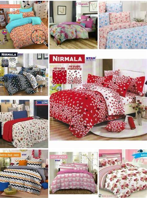 Bed Cover Polos Uk 120x200 batik sae sprei murah bahan cvc