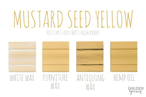 miss mustard seed s milk paint color of the month mustard seed yellow