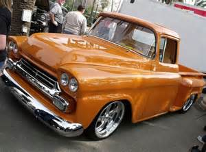 58 or 59 chevy truck orange you glad