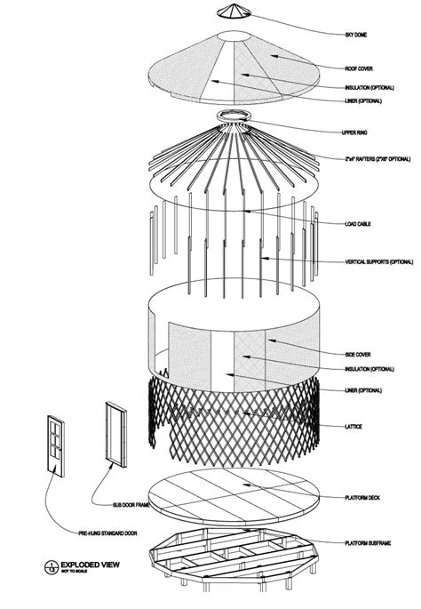 Santa Fe House Plans by How To Build A Yurt Yurts Of America