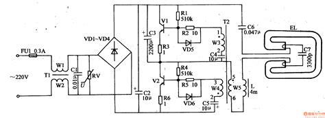 circuit diagram of electronic choke fluorescent electronic ballast wiring diagram circuit