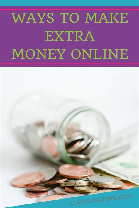 Money Making Ways Online - 7 ways to make money online the classy chapter