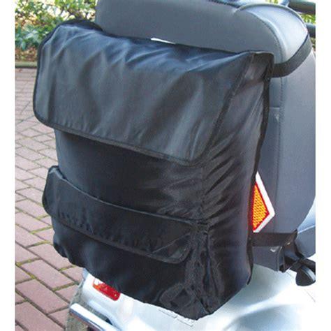 scooter pour fauteuil roulant sac pour dossier de fauteuil roulant ou scooter sofamed