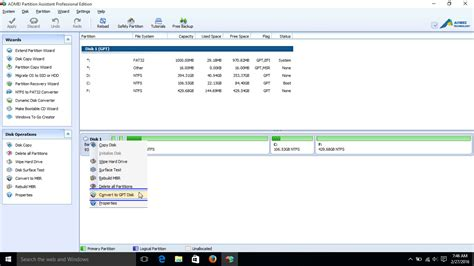install windows 10 to gpt convert your harddisk from mbr to gpt for windows 10