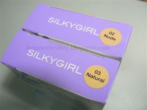 Silkygirl Two Way Foundation beautee malaysian review silkygirl