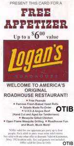 logan s roadhouse free appetizer coupon orlando coupons free