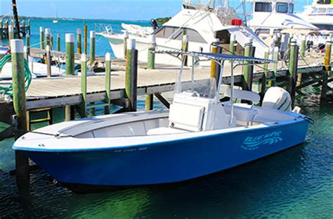 blue wave boat t top blue wave boat rental in marsh harbour abaco our boats