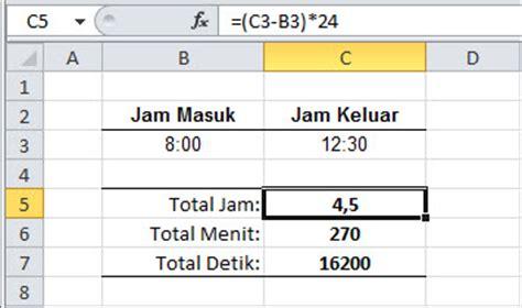 format jam di excel mengenal formula pada excel part 21 fungsi waktu id id