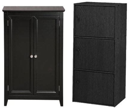 Black Storage Cabinet With Doors Black Storage Cabinets With Doors Foregather Net