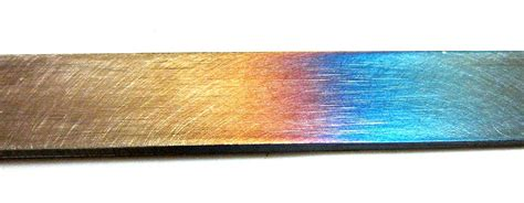 steel color tempering metallurgy