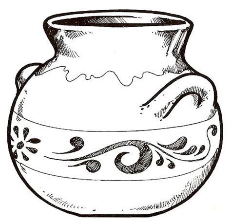 Imagenes De Jarrones Faciles Para Dibujar | dibujos de jarrones para colorear dibujos para colorear