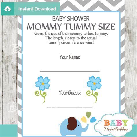 blue elephant baby shower games bundle d105 baby