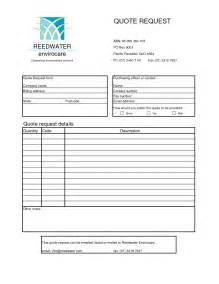 quote forms template free best photos of format for request for quote request for