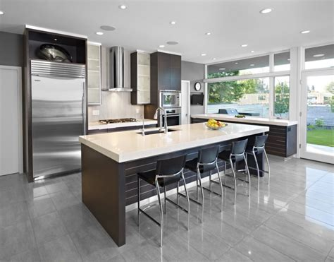 Modern Kitchen Designs With Island How To Have The Best Contemporary Kitchen Island Ideas